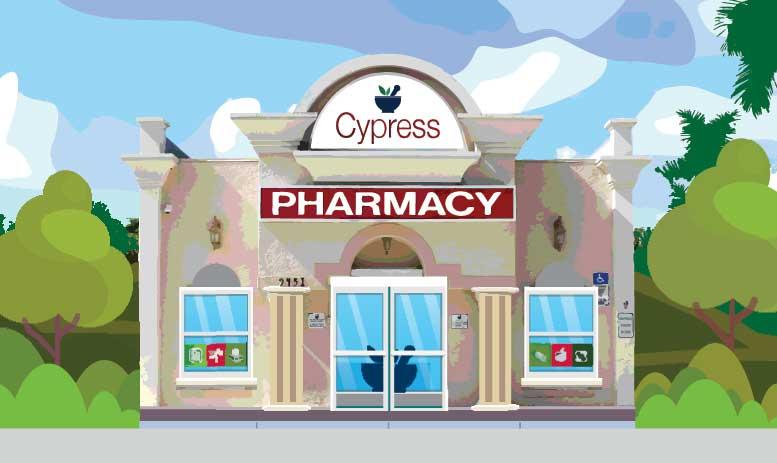 Animated image of Cypress Pharmacy